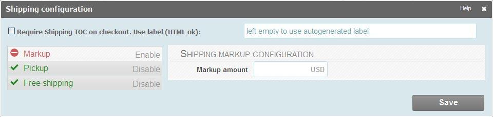 shippingconfiguration