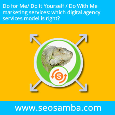Do for Me/ Do It Yourself / Do With Me marketing services: which digital agency services model is right?